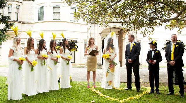 marriage celebrant Sharon Salvestrin